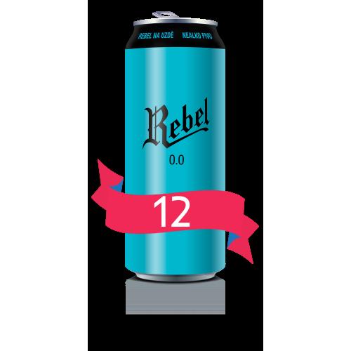 REBEL 0.0 - vez 12x0,5l