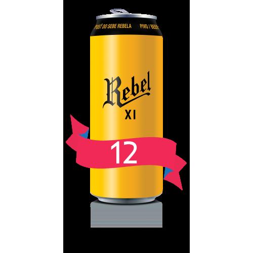 REBEL XI - vez 12x0,5l